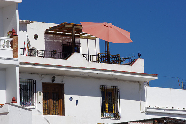 The house in La Caleta