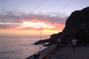 Fishing in La Caleta